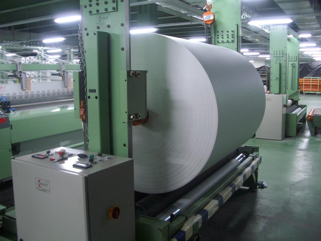 Engineering Fabric Take-Up