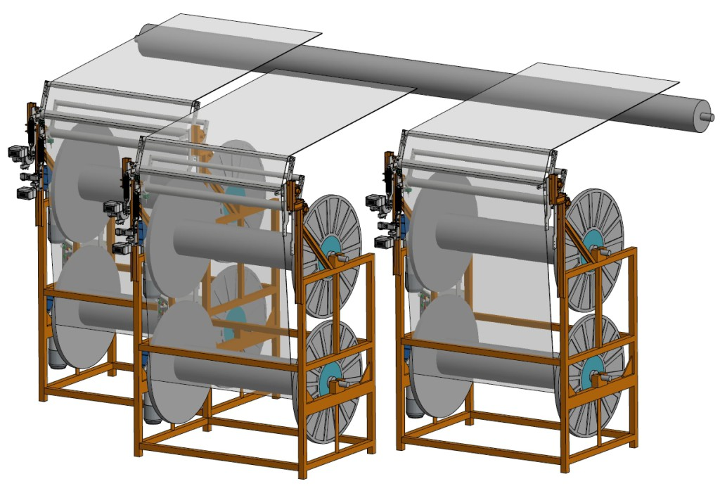 Thread Feed System Roller System