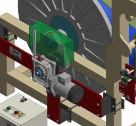 Kettablass - Antriebaufbau