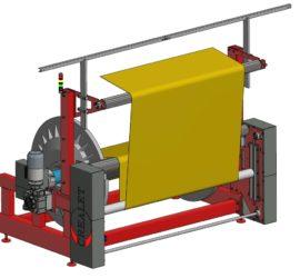 Sondermaschinenbau - Kettbaumgestell für Wirkmaschine